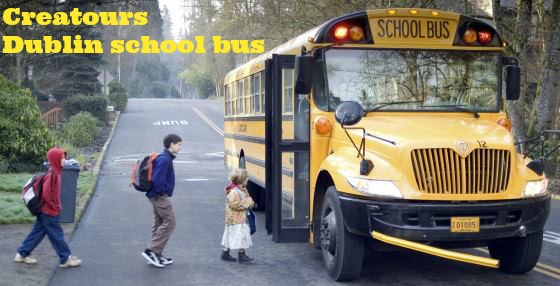 Dublin school bus